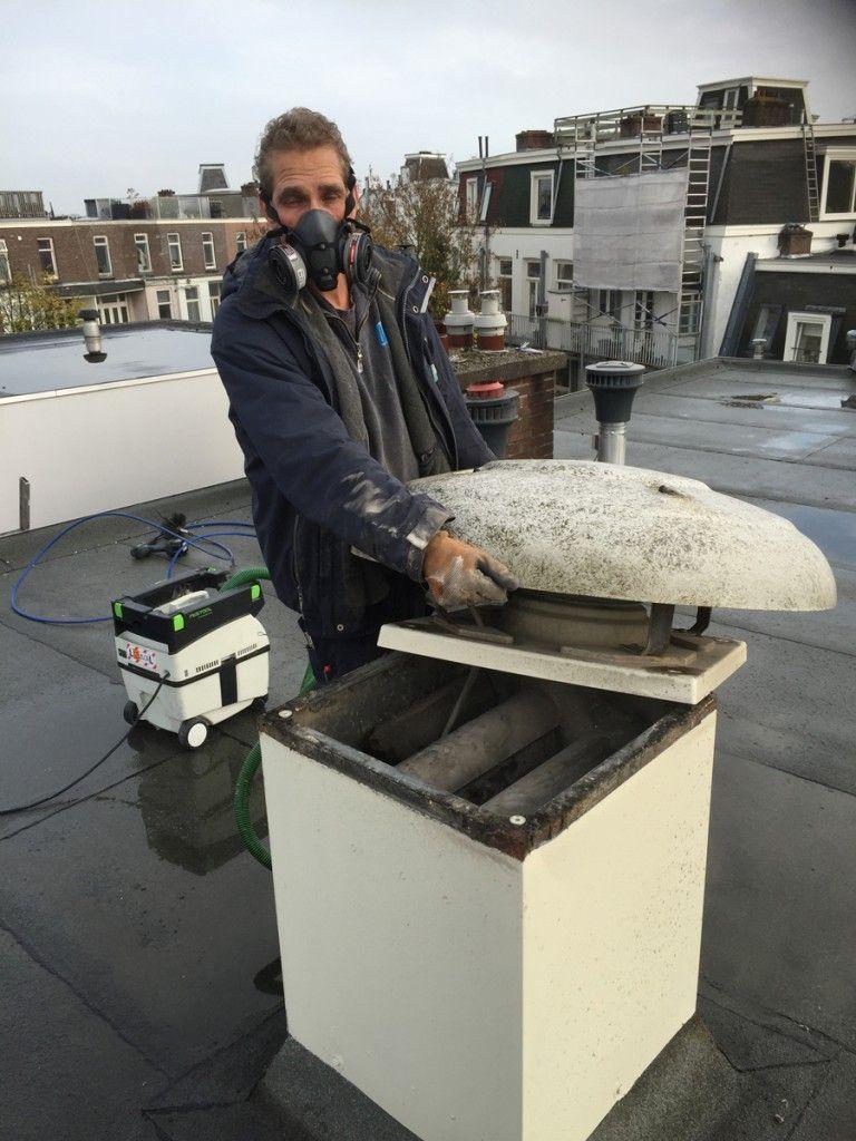 Luchtkanalen reinigen